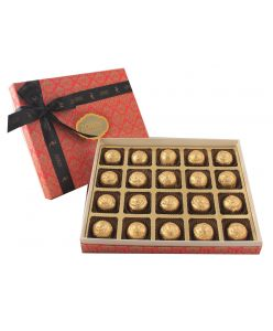 Box of 20 assorted Sugarless chocolates