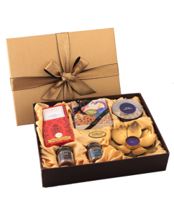 The Festive Hamper Box Medium of chocolates, dry fruit and other assorted goodies