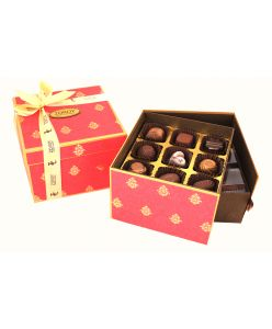 Double decker special festive Collection box of 27 soft centred Chocolates