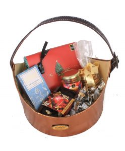 The Christmas Prestige Hamper of chocolates, plum cake' and variety of assorted goodies