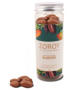 Roasted almond dipped in pure Belgian chocolate