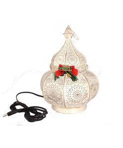 Antique Christmas Lantern of Happiness with chocolates