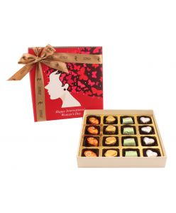 Women's Day Special Box of 16 with Assorted Pralines