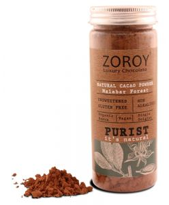 ZOROY Purist collection Natural Coco Powder, 100 gms