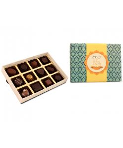 Diwali special gift box of 12 assorted chocolates