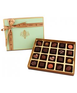 Peacock Themed Box With 20 assorted chocolate