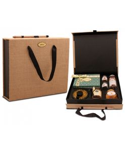 Diwali Eco friendly Hamper Box of assorted goodies