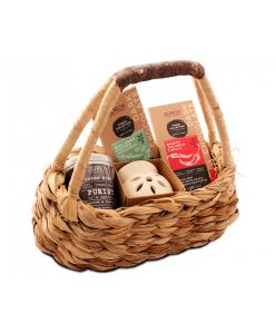The Banana Fibre Purist Hamper Basket- Bean to Bar