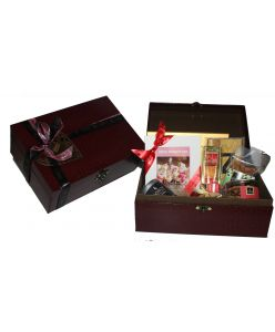 Mother's Day Leather Chest Hamper