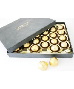 Sugarless Black Large - 24 chocolates
