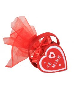 Heart Shaped Pouch with Chocolates