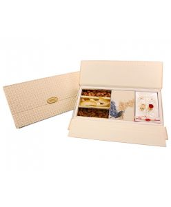 ZOROY Rakhi festive hamper of chocolates and dry fruits