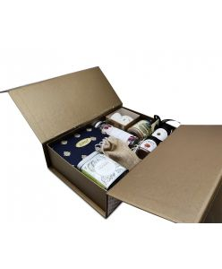 ZOROY The Happiness Basket Hamper of chocolates, assorted dry fruits , cookies, nut butter and assorted goodies