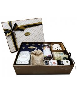 ZOROY The Happiness Box hamper of  chocolates, assorted dry fruits , cookies, nut butter and assorted goodies
