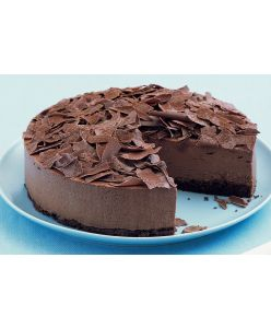 ZOROY Eggeless Belgian Chocolate mousse cake - Half Kg - Delivery In Bengaluru Only