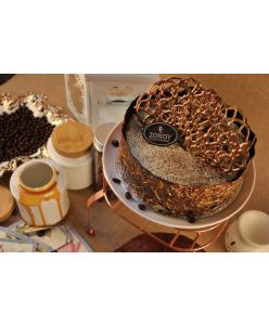 ZOROY Eggless Coffee caramel cake - Delivery In Bengaluru Only