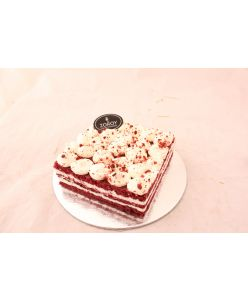 ZOROY Eggless Red Velvet Cheesecake - Bengaluru delivery only