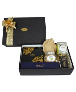 ZOROY Gourmet hamper box of goodies and chocolates