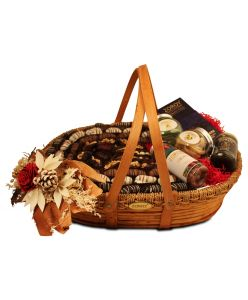ZOROY Large Luxury Dates cane basket