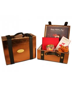 ZOROY Luxury Chocolate Valentines Love Mini Suitcase Hamper