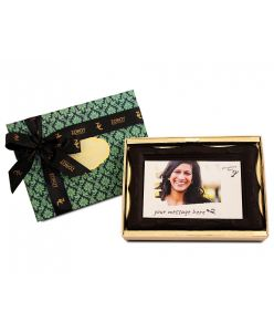ZOROY Photo frame chocolate with edible photograph