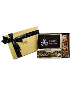 ZOROY  Small Celebration Box with chocolate bar and dry fruits
