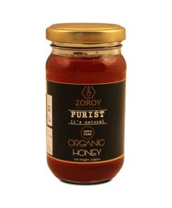 ZOROY THE FINESSE 100% Pure Honey  Organic Honey  cultivated from Himalyas  Wild forest Honey | Best Honey for Family | Natural Honey | No Sugar adulteration | 250 Grams