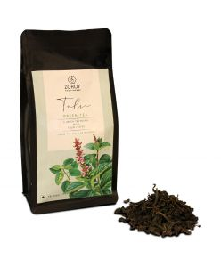 ZOROY THE FINESSE Tulsi Green tea | 100% Natural Herbal Detox | No Flavours, no oils no essences | No Additives | Rejuvinating Tulsi chai | Anti Oxidant rich | Natural immunity Booster | 75 Gms
