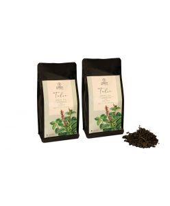 ZOROY THE FINESSE Tulsi Green tea   100% Natural Herbal Detox   No Flavours   No essences   No Additives   Rejuvinating Tulsi chai   Anti Oxidant rich   Natural immunity Booster   Set of 2   150 Gms