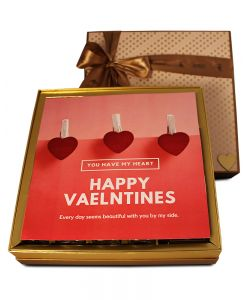 ZOROY Luxury Chocolate Valentine Love Elegance Hamper
