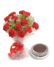 Bangalore Only - Fresh Flowers - Carnations of Love