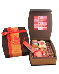 Curved Goody Hamper for Valentine's