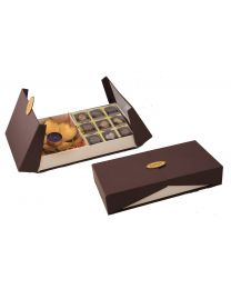 Festive Combo Box with Candle holder and Assorted chocolate set