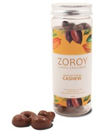 Roasted cashew dipped in pure Belgian chocolate