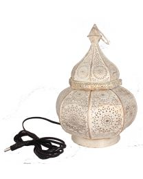 Moroccan metal lantern with Bulb holder containing 20 chocolates