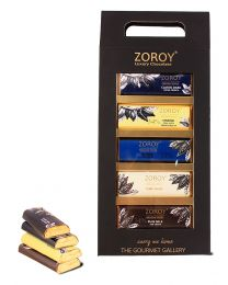 ZOROY 5 Belgian Bar set The Gourmet Gallery box