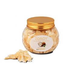 ZOROY Dehydrated Dried Coconut chips- 2 bottles pack of 100 gms each- 200gms