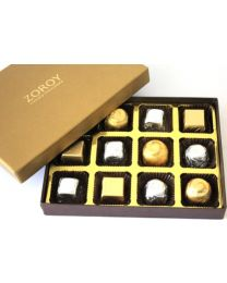 Luxury Gold Small - 12 chocolates