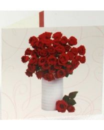Roses Greetings Card