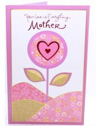 Mothers Day Greetings Card- Your Love is Everything
